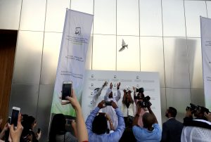 Tolerance Awards Press Conference - Releasing the Doves