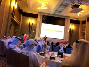 Adel Alhaimi Interpreting at HR Future Trends 1