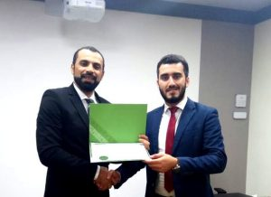 Adel Alhaimi with Course Certificate