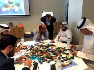 Red Sea's Adel Alhaimi at the Creative Leadership and Innovation course