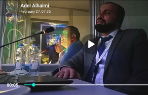 Adel Alhaimi - Simultaneous Interpreting - DEWA CSP Workshop (video still)